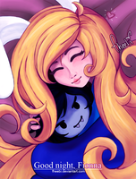 Good Night, Fionna by fheebi
