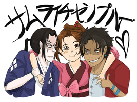 SAMURAI CHAMPLOO by rainbowpaca