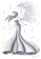 Feel the wind my angel by Nirindel