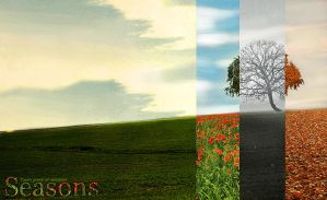 Seasons.. by shebid