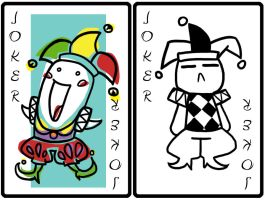Playing cards - Joker by catiniata