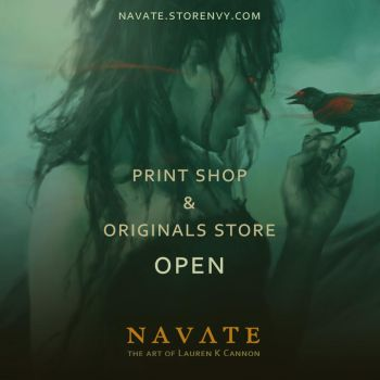 Print shop and originals store: OPEN! by navate