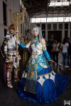 Ende and Ceres at Salon del Manga de Barcelona by Virchan