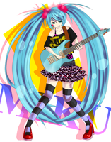 Rocking Miku by Suiri-Shi