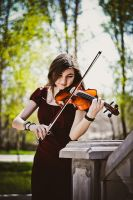 Violin II by Touch-Of-Sun