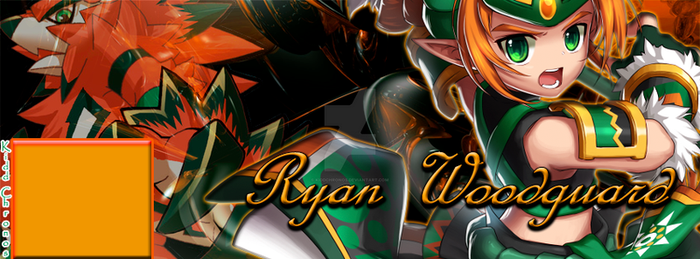 Capa (Case) Ryan Woodguard - Game: Grand Chase by KiddChronos