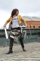 Attack on titan sasha blouse by smallfry09