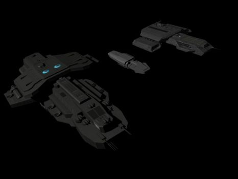 Claudius Class WIP Size Comp 2 by EpytronOmega