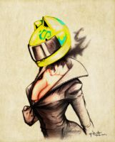 The Dullahan - Celty by lamp0s