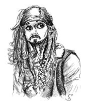 Sketchy Depp by Diamondza