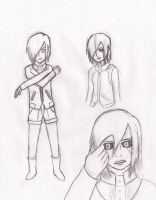 Tokyo Ghoul: Touka Sketches... by MCab719