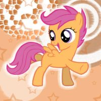 MLP Dancing Scootaloo by sukinorules