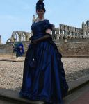 blue cladia gothic gown by Abigial709b
