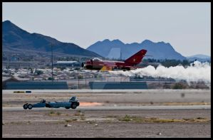 Nellis Drag race by AirshowDave