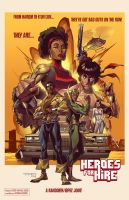 Heroes for Hire by E-Mann