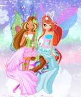 Flora and Bloom Sirenix by werunchick