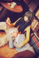 No.6 -  library nap by Firiless