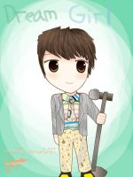 SHINee Minho  - Dream Girl [Fan Art] by HaNa1412