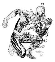 Venomized inked by LuisPuig