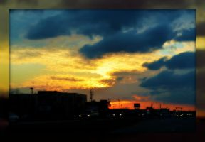Sunset to End the Day by PhotographicCrypto