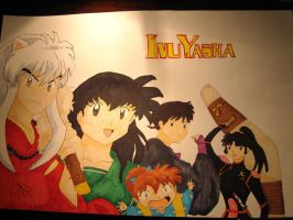 Inuyasha Characters by Lrbrz