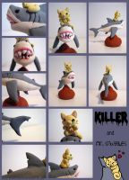 Killer and Mr. Snuggles by Ink--It