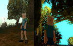 GTA SA Skin Finn the Human by rustyknife06