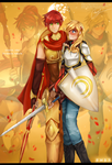 RWBY-Match made in heaven - Genderbends by dishwasher1910