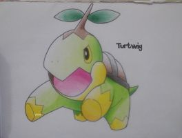 Turtwig by Vongxm