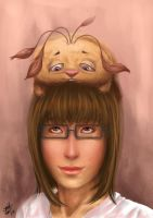 Portrait of my pet and I by Scorptique