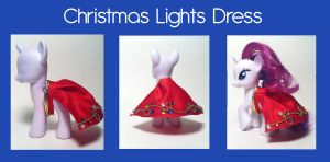 Christmas Lights Dress by CuteTherapy