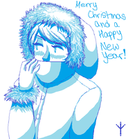 Merry Christmas and a Happy New Year! 2013 by SonicWolvelina99