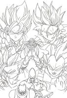 Vegetto: call it hypertracing dbz by vegetto-vegito