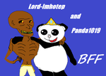Panda1019 and I by Lord-Imhotep