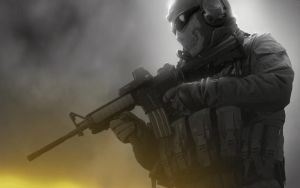 Modern Warfare 2 - Ghost by emperaa
