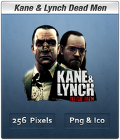 Kane and Lynch Dead Men Icon by Th3-ProphetMan