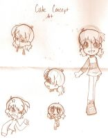 Cutie Concept Art by Natsumi-chan0wolf