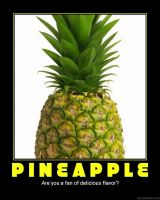 Demotivation of a pineapple by Evil-laughterdotcom