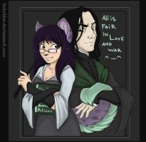 Llosqeen and Love Potions by belo4ka