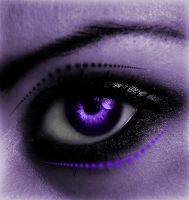 Purple Eye by Geodium