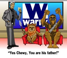 Chewy, Wicket, Maury joke by fishwithoutfeet