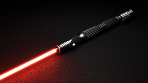 Sith Lightsaber by TrueCryer