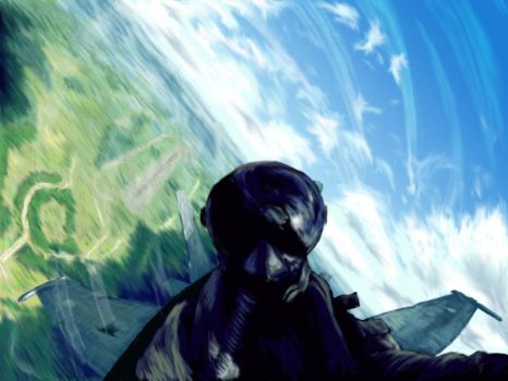 Fighter Pilot by HenryGale