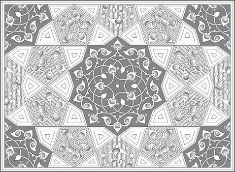 Islamic Architectural Art 35 by Al-Kabeer