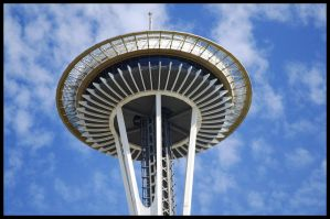 Space needle 03 by 32tsunami