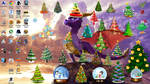 Christmas Spyro by Zonoya717