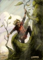 Jack and the Beanstalk by yusef-abonamah