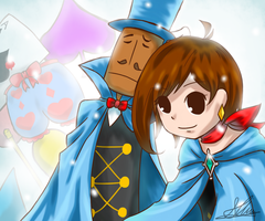 Trucy Wright by Slimymush
