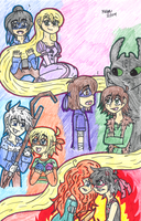 When the brothers meet the big four by Nicktoons4ever