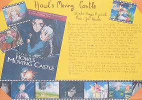 Homework for English lesson - Howl's Moving Castle by HimmelMidgard